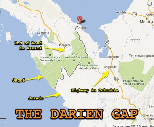 DARIEN-GAP